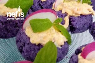 Teremyağlı Lahana Pare Salatası Tarifi