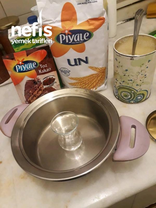 Teremyağlı Frigo (kakaolu Puding)