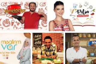 Yemek Programları – En Çok İzlenen 5 Nefis Televizyon Programı Tarifi