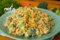 Çok Lezzetli ve Pratik Brokoli Mezesi Tarifi (videolu)