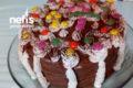 Doğum Günü Pastası (Hazır Pandispanyadan ) Tarifi