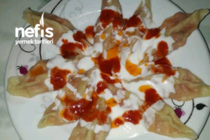 Patatesli Çerkez Mantısı (Kesinlikle Denemelisiniz Mükemmel) Tarifi