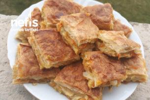 Pırasalı Havuçlu Tepsi Böreği (Şahane Lezzet) Tarifi