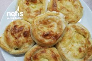 Teremyağlı Peynirli Gül Böreği Tarifi
