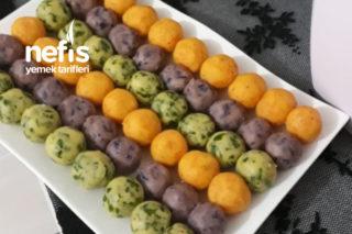 Teremyağlı Renkli Patates Topları Tarifi