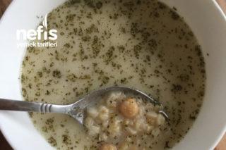 Yoğurtlu Nohutlu Buğday Çorbası Tarifi