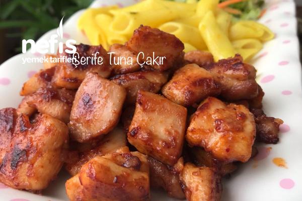 Teremyağlı Barbekü Soslu Tavuk (Şefler Kıskanır) Tarifi