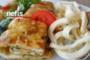 Teremyağlı Sebzeli Börek Gibi Omlet Tarifi