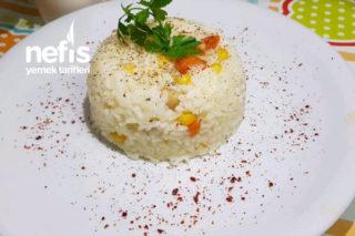 Teremyağlı Sebzeli Nohutlu Pirinç Pilavı Tarifi