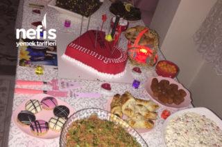 Doğum Günü Menüsü (1.yıl Kutlaması) Tarifi