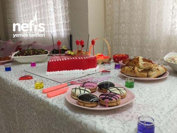 Doğum Günü Menüsü(1.yıl Kutlaması)