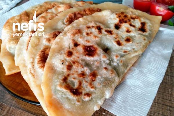Ispanaklı Çiğ Börek Tarifi