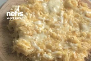 Sabah Kahvaltıya Patatesli Omlet Tarifi