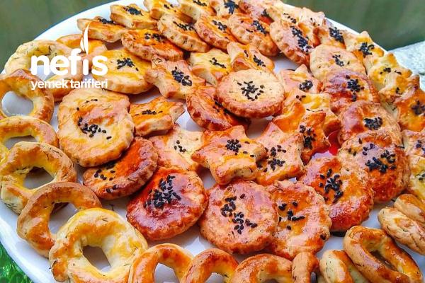 Teremyağlı Pastane Tuzluları Tarifi