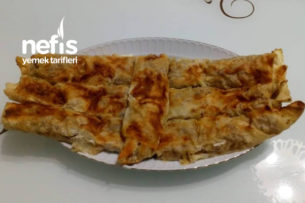 Teremyağlı Patatesli Kıymalı Börek Tarifi