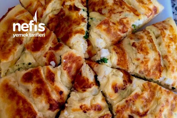 Teremyağlı Sarmal Pratik Tava Böreği Tarifi
