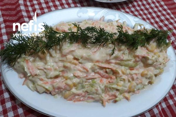 Kfc Coleslaw Salatası (Olağanüstü Güzel Bir Tarif Kesinlikle Deneyin) Tarifi