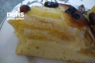 Leziz Elmalı Pasta Tarifi