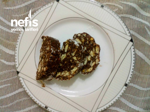 Mozaik Pasta (15 Dakika İçinde Pratik Pasta)(Teremyağlı)