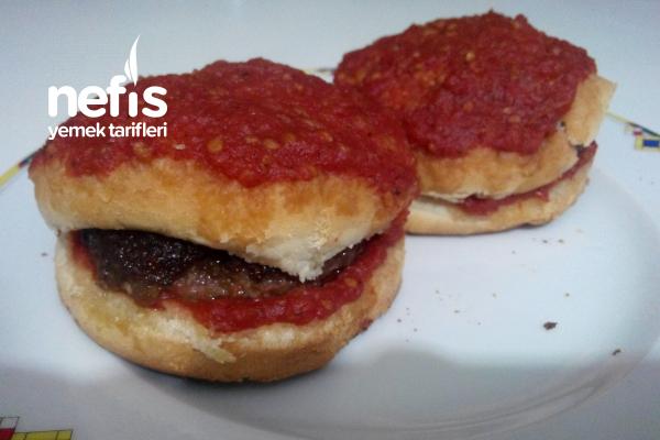Teremyağlı Islak Hamburger Tarifi