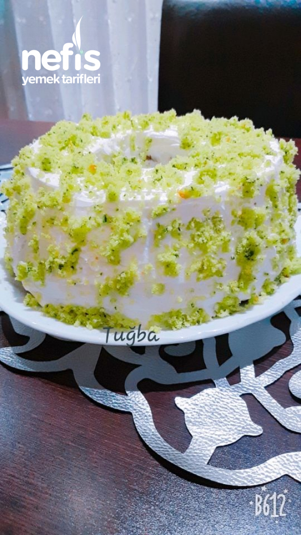 Ispanaklı Kek-pasta