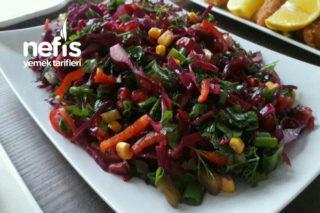 Kırmızı Şifa Salata Tarifi