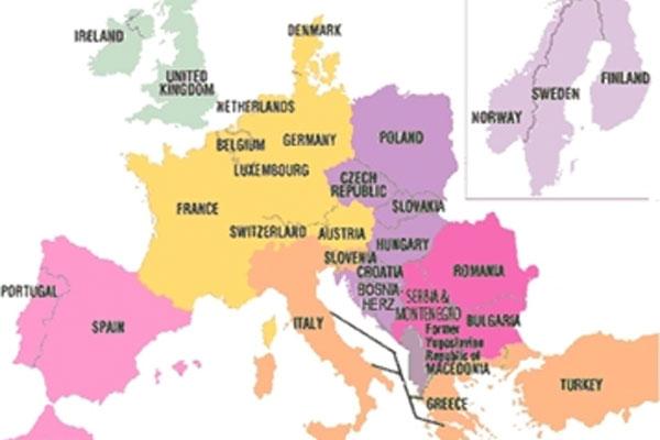 interrail ülkeleri