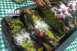 Ispanaklı Kakaolu Kek Tarifi
