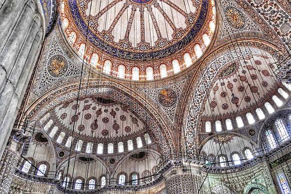 sultan ahmet camii mimarı
