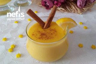 Teremyağlı Limonlu Muhallebi (5 Dakikada Muhteşem Kıvam) Tarifi