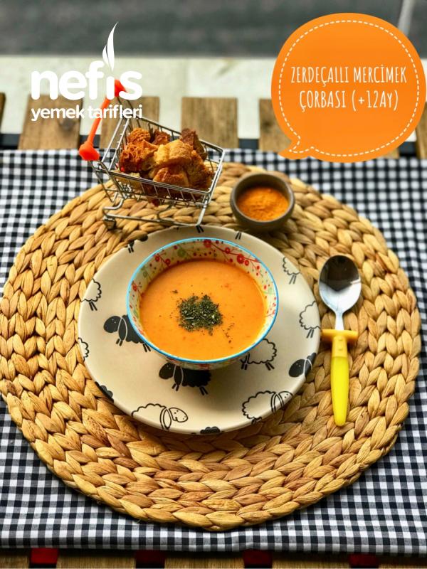 Zerdeçallı Mercimek Çorbası (+12ay)