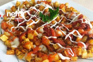 Baharatlı Sucuklu Patates Tava Tarifi
