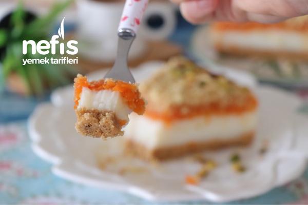Fırınsız En Kolay Balkabağı Pastası (videolu)
