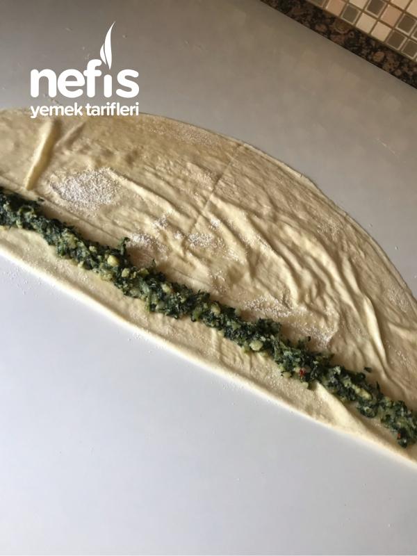 Ispanaklı Çıtır Börek