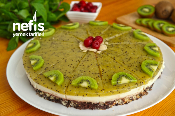 Meyveli Muhallebili Mozaik Pasta