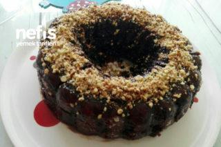 Mikrodalgada 8 Dk Şipşak Nefis Çikolatalı Islak Kek Tarifi