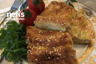 Teremyağlı Patatesli Peynirli El Açması Börek Tarifi
