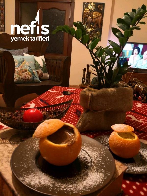Portakallı Puding