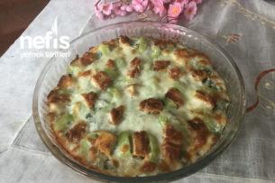 Teremyağlı Nuggetlı Pizza Tarifi