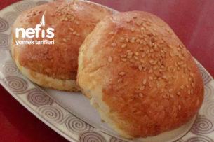 Teremyağlı Teremburger  (Hamburger Ekmeği – En Pratik) Tarifi