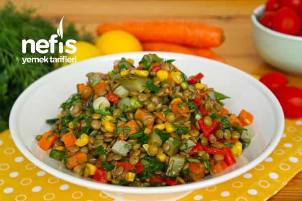 Yesil Mercimek Salatası
