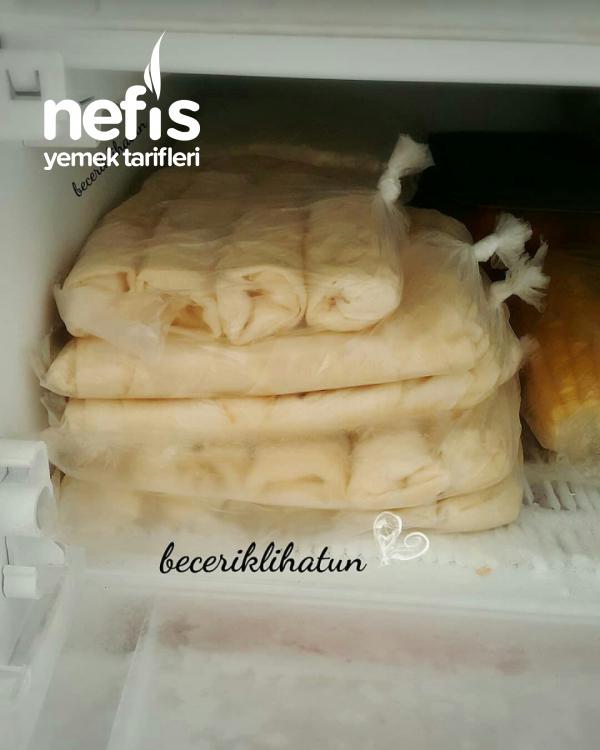 Teremyağlı Buzluk Böreği