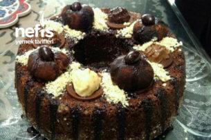 Teremyağlı Çikolatalı Kek Tarifi