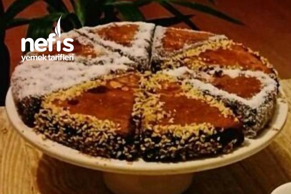 Teremyağlı Çikolata Soslu Kek