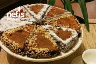 Teremyağlı Çikolata Soslu Kek Tarifi