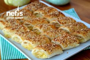 Mutlaka Beğeni Alacak! Çıtır Çıtır Patatesli Börek Tarifi