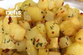 Teremyağlı Patates Küpleri Tarifi