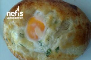 Teremyağlı Yumurtalı Poğaça Tarifi