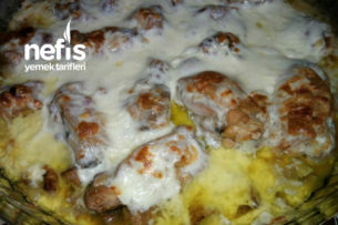 Lavaş Peynirli Mantarlı Tavuk Tarifi