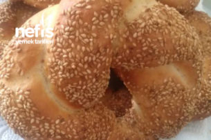 Sıcacık Pastane Simidi Tarifi